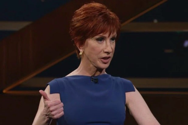 Kathy Griffin announces first USA comedy tour dates since infamous Trump photo
