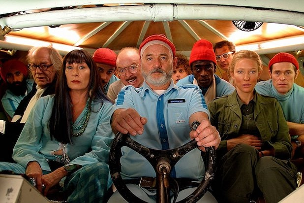 Life Aquatic with Steve Zissou Wes Anderson