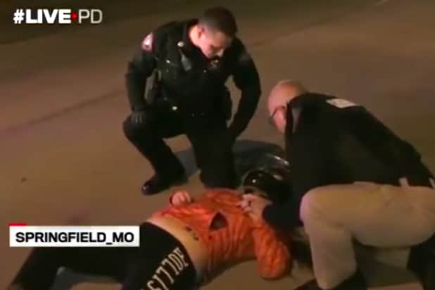 Live Pd Watch Motorcycle Couple Crash Into Car While Evading Cops