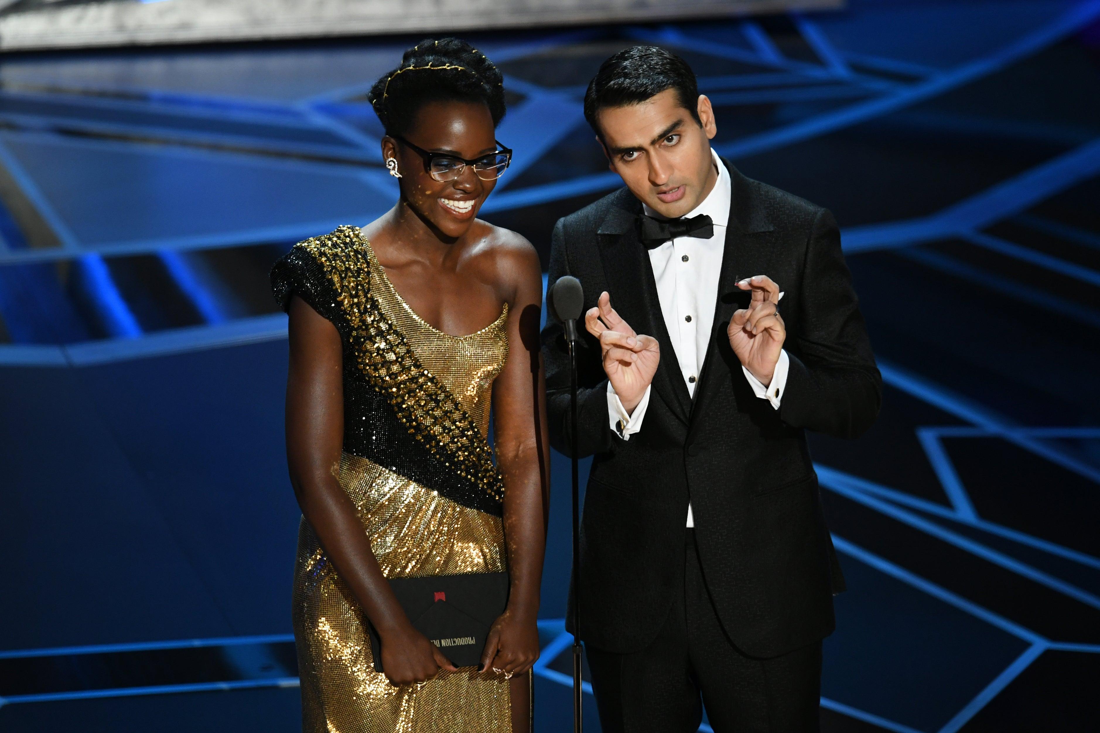 Lupita Nyong'o Kumail Nanjiani Oscars