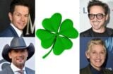 Mark Wahlberg Tim McGraw Robert Downey Ellen Degeneres St Patricks Day