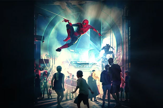 Marvel Land Coming To Disney Parks Three Locations Getting Rides
