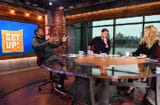 Jalen Rose, Mike Greenberg and Michelle Beadle Get Up