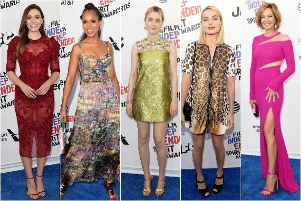 Elizabeth Olsen Kerry Washington Saoirse Ronan Margot Robbie Allison Janney Spirit Awards