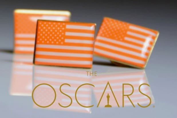 Orange American Flag Oscars