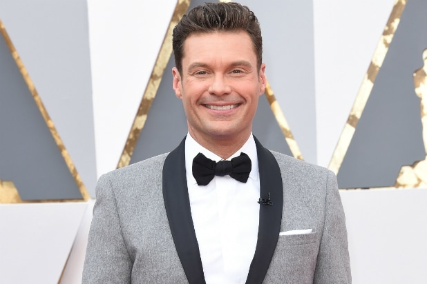 Ryan Seacrest on Oscars Red Carpet