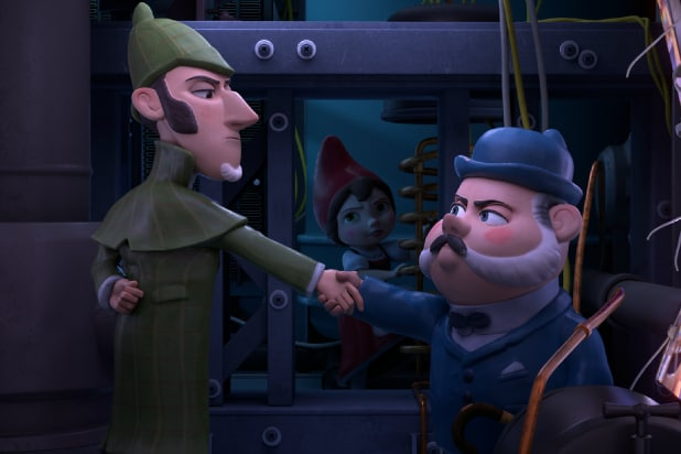 f3d9570fedc2 'Sherlock Gnomes' Film Review: Elementary Sequel Takes a Teeny, Tiny Step Up