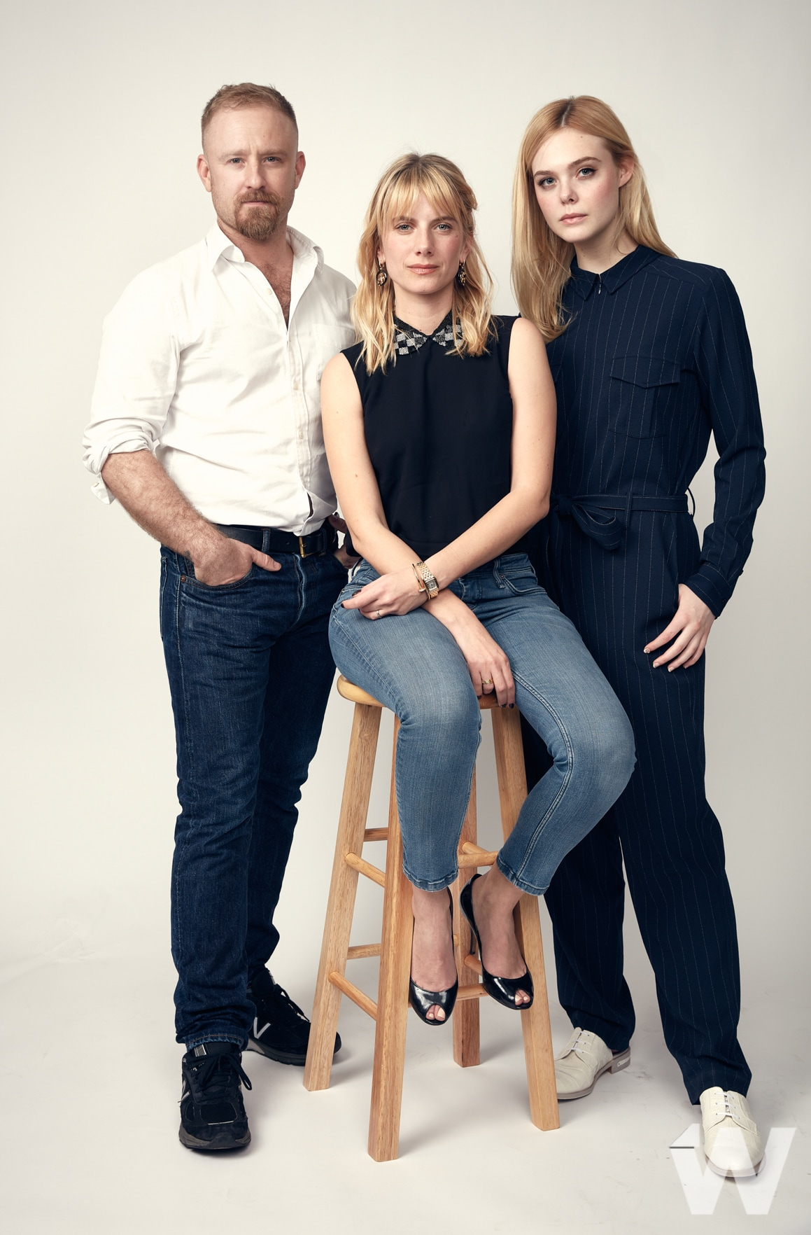 SXSW 2018 Ben Foster, Melanie Laurent, and Elle Fanning Galveston