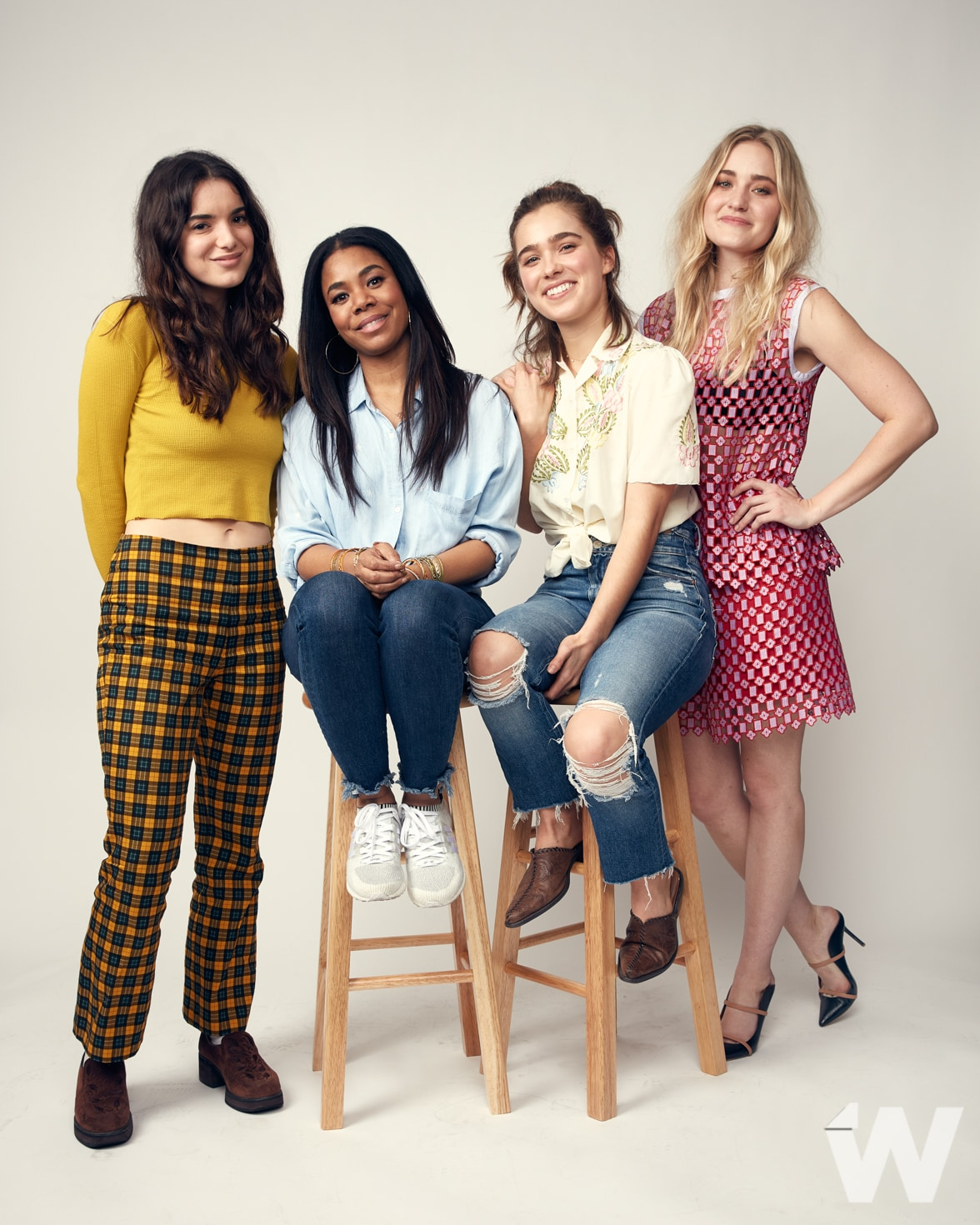 SXSW 2018 Support the Girls Dylan Gelula, Regina Hall, Haley Lu Richardson, AJ Michalca