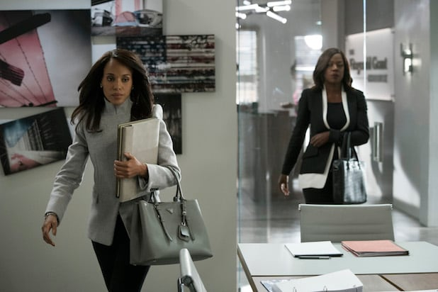 KERRY WASHINGTON, VIOLA DAVIS Scandal How to Get Away with Murder Crossover