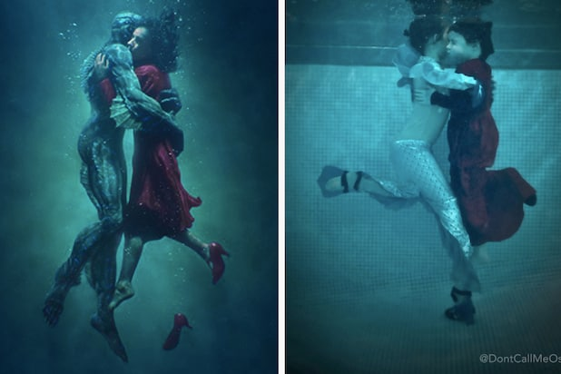 don't call me oscar kids shape of water