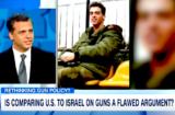 Itay Hod on HLN gun control Israel