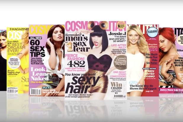 Walmart removing Cosmopolitan magazine from checkout lines