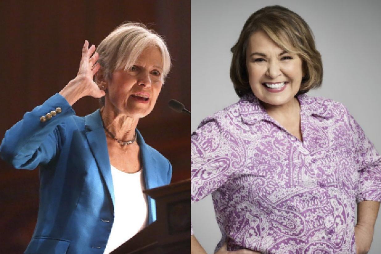 Jill Stein Roseanne Barr Who Is Jill Stein