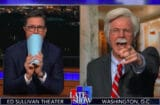 Stephen Colbert and Dana Carvey as John Bolton