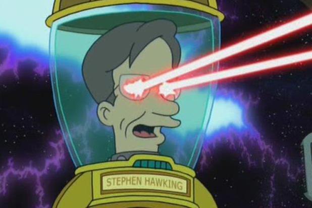 Stephen Hawking Futurama