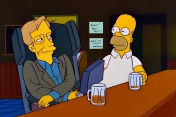 Stephen Hawking The Simpsons