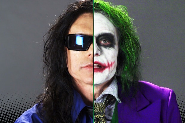 Watch Tommy Wiseau Audition To Play The Joker Video
