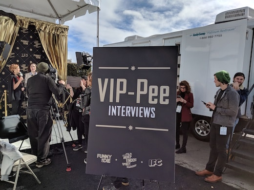Funny or Die VIP-Pee at indy Spirit Awards 2018