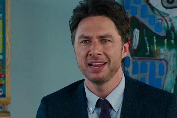 Zach Braff in ABC's 'Alex, Inc.'