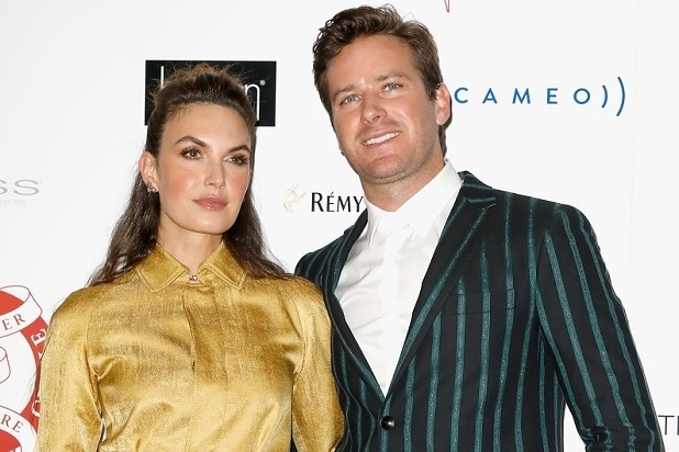 Armie Hammer's Wife Says an Impostor Used Her Name in Bid ...