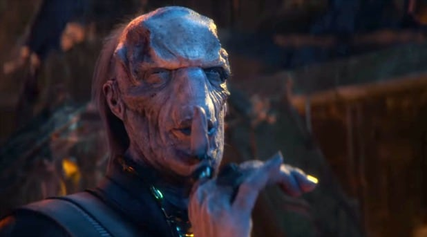 Image result for ebony maw shhh
