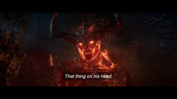 surtur's crown is a boomerang thor ragnarok taika waititi (2)