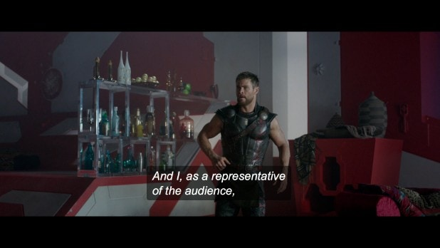 taika waititi commentary thor ragnarok chris hemsworth topless (2)