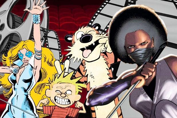 Dazzler Calvin and Hobbes Ninja-K