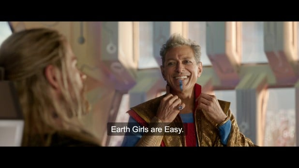 taika waititi commentary thor ragnarok earth girls are easy (4)