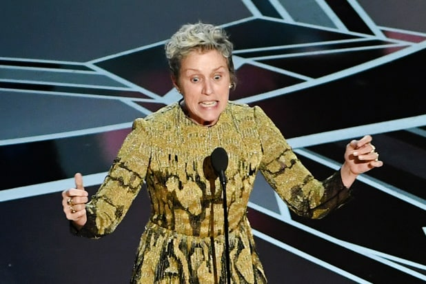 frances mcdormand oscar inclusion rider