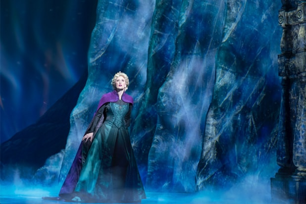 221d8c0d07c55 'Frozen' Broadway Review: Disney's Animated Hit Becomes Major Snow Job