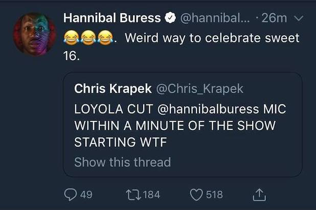 hannibal buress tweet