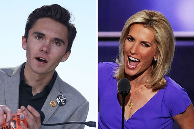david hogg laura ingraham
