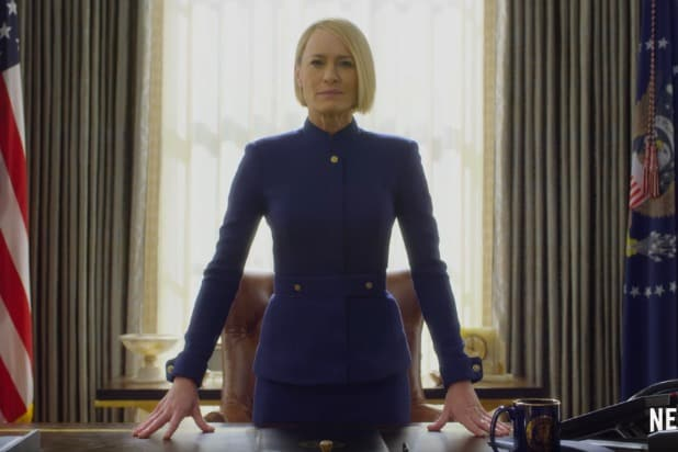 house of cards final season robin wright hail to the chief