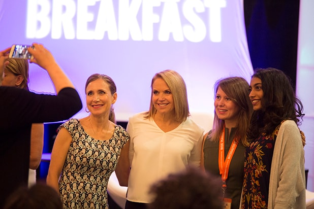 katie couric and attendees Power Women Breakfast 2018 Austin