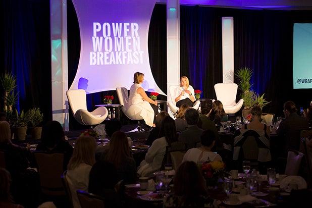 Power Women Breakfast 2018 Austin katie couric and sharon waxman
