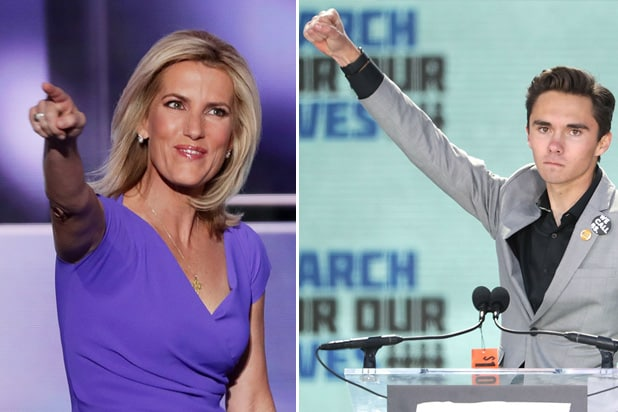 laura ingraham david hogg