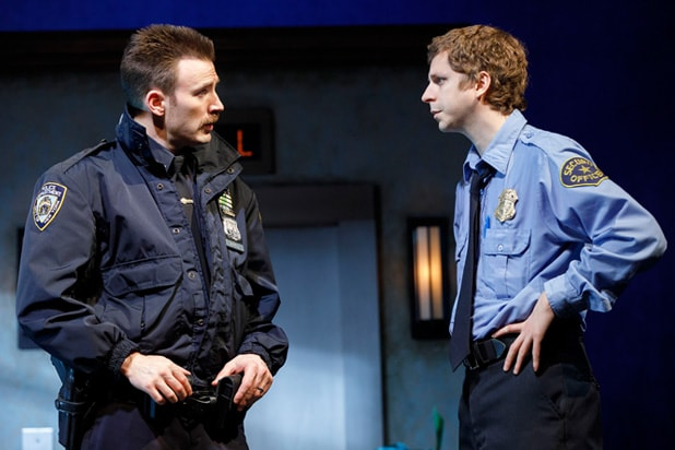 lobby hero chris evans michael cera