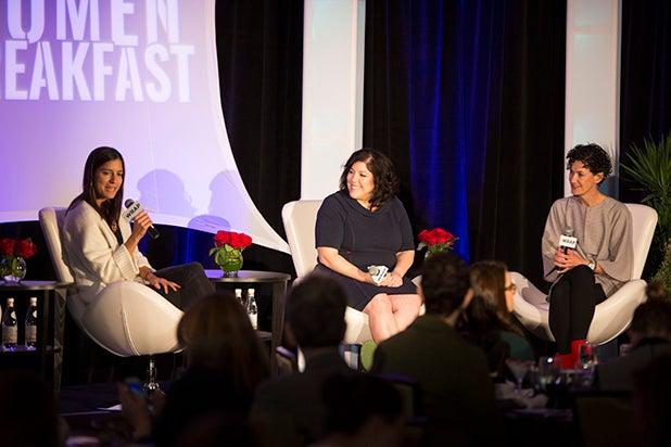 camila jimenez villa christine lubrano and nancy giordano Power Women Breakfast 2018 Austin