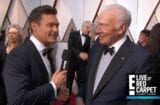 ryan seacrest christopher plummer oscars red carpet 2018 all the money in the world kevin spacey