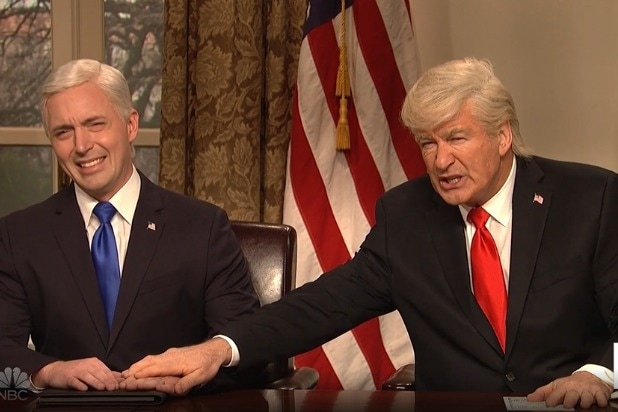 snl saturday night live alec baldwin donald trump mike pence