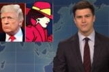 snl saturday night live weekend update colin jost donald trump is carmen san diego