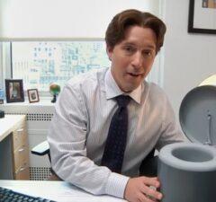 snl undercover office potty beck bennett bill hader