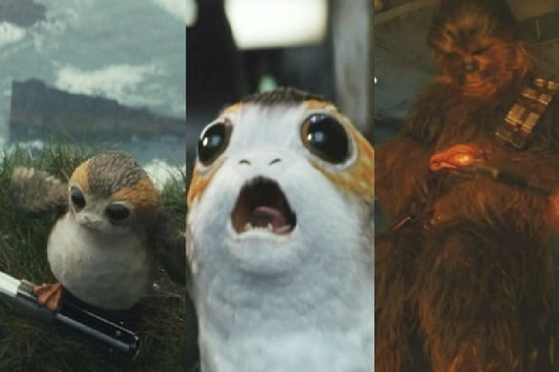 star wars the last jedi every porg ranked