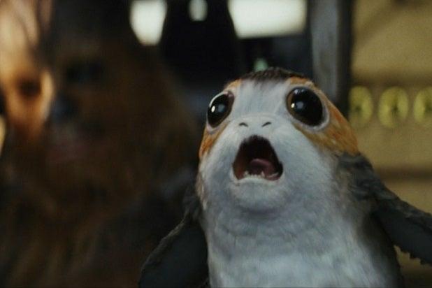 star wars the last jedi screaming porg