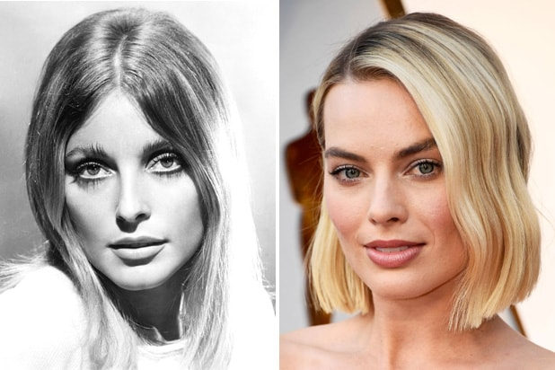 sharon tate margot robbie tarantino