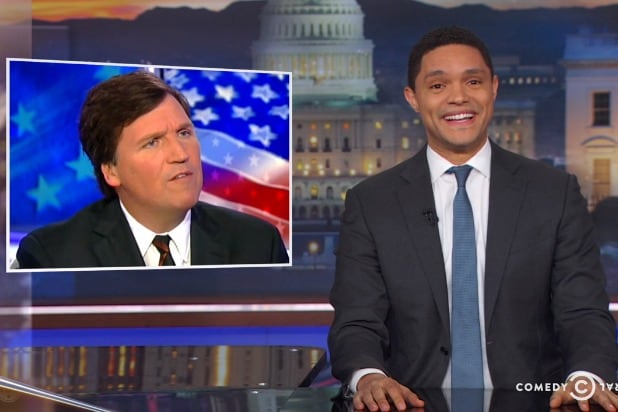 the daily show with trevor noah tucker carlson is an asshole says kids aren't citizens