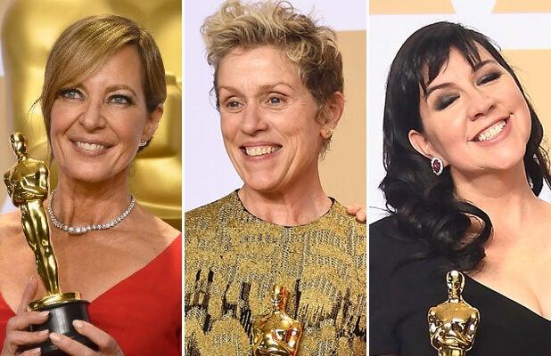 Time's Up, Oscars: Fewest Female Winners Since 2012