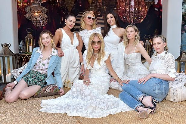Whitney Port, Olivia Culpo, Paris Hilton, Rachel Zoe, Victoria Justice, Sara Foster and Erin Foste